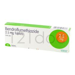 Bendroflumethiazide 5mg x 84